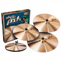 PACK PAISTE PST7 SESSION (H14/C18/R20) + CRASH 16