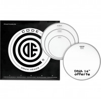 "CODE DNA PACK 4PCS 10""/12""/14""CLEAR +14""COATED"