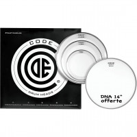 "CODE RESO RING PACK 4PCS 10""/12""/14""CLEAR +DNA14""COATED"