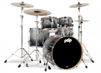 PDP CONCEPT MAPLE CM5 FUSION20 SILVER TO BLACK SPARKLE FADE
