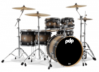 PDP CONCEPT MAPLE CM6 STUDIO22 SATIN CHARCOAL BURST