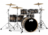 PDP CONCEPT MAPLE CM7 STUDIO22 SATIN CHARCOAL BURST