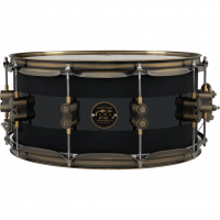 PDP CONCEPT LTD 14X06.5 20TH ANNIVERSARY MATTE BLACK W/GLOSS BLACK CENTER LIMITED EDITION