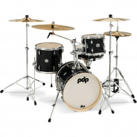 "PDP NEW YORKER 16""/4PCS BLACK ONYX SPARKLE"