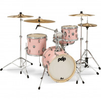 "PDP NEW YORKER 16""/4PCS PALE ROSE SPARKLE"