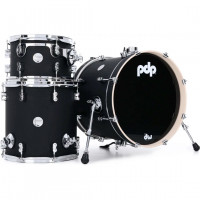 "PDP CONCEPT MAPLE 18""/3PCS SATIN BLACK"