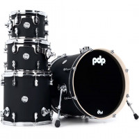 "PDP CONCEPT MAPLE 20""/4PCS SATIN BLACK"