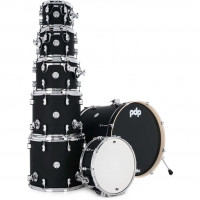 "PDP CONCEPT MAPLE 22""/7PCS SATIN BLACK"