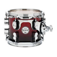 PDP CONCEPT MAPLE 08X07 TOM RED TO BLACK SPARKLE FADE