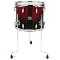 PDP CONCEPT MAPLE 14X12 FLOOR TOM RED TO BLACK SPARKLE FADE