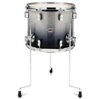 PDP CONCEPT MAPLE 14X12 FLOOR TOM SILVER TO BLACK SPARKLE FADE