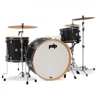 PDP CONCEPT CLASSIC 24 EBONY STAIN WITH EBONY HOOPS