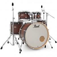 PEARL DECADE MAPLE STAGE22 5FUTS SATIN BROWN BURST