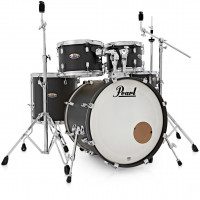 PEARL DECADE MAPLE STAGE22 5FUTS SATIN SLATE BLACK