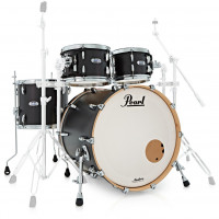 PEARL MASTERS MAPLE COMPLETE STAGE22 MATTE CAVIAR BLACK