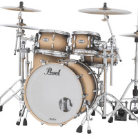 PEARL MASTERS MAPLE COMPLETE STAGE22 SATIN NATURAL BURST