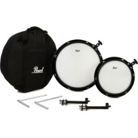 "PEARL COMPACT TRAVELER 2PCS 10""/14"" TOMS PACK"