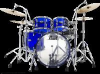 "PEARL CRB524PC-742  Crystal Beat 22""/4pcs Blue Sapphire"