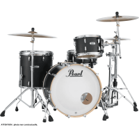 PEARL MASTERS MAPLE COMPLETE ROCK24 MATTE CAVIAR BLACK