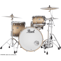 PEARL MASTERS MAPLE COMPLETE ROCK24 SATIN NATURAL BURST
