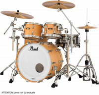 PEARL MASTERS MAPLE GUM STAGE22 SATIN NATURAL MAPLE