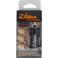 ZILDJIAN ZPLUGSL PROTECTIONS AUDITIVES COULEUR CLAIRE