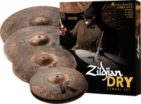 PACK ZILDJIAN K CUSTOM SPECIAL DRY (H14/C16/R21) + CRASH 18
