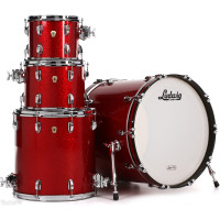 LUDWIG L88204AX27 CLASSIC MAPLE STAGE22 RED SPARKLE