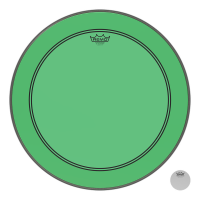 REMO POWERSTROKE III 20 COLORTONE GREEN - GROSSE CAISSE