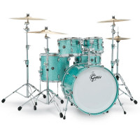 GRETSCH RENOWN MAPLE STAGE22 4FUTS TURQUOISE SPARKLE