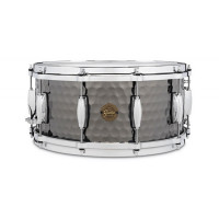 GRETSCH FULL RANGE14X06.5 BLACK STEEL HAMMERED