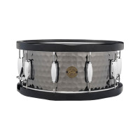 GRETSCH FULL RANGE14X06.5 BLACK STEEL HAMMERED - WOOD HOOP