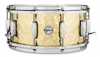 GRETSCH FULL RANGE14X06.5 POLISHED BRASS HAMMERED