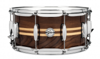 GRETSCH FULL RANGE 14X06.5 WALNUT W/TWIN MAPLE INLAY