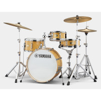 "YAMAHA STAGE CUSTOM HIP 20""/4PCS NATURAL WOOD"