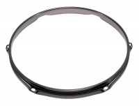 "SPAREDRUM H23106BK CERCLE 10"" / 6 TIRANTS TRIPLE FLANGE BLACK 2,3mm"