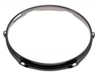"SPAREDRUM H23106SBK CERCLE 10"" / 6 TIRANTS - TIMBRE - TRIPLE FLANGE BLACK 2,3mm"