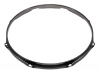 "SPAREDRUM H23168BK CERCLE 16"" / 8 TIRANTS TRIPLE FLANGE BLACK 2,3mm"