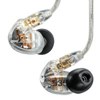 SHURE SE535-CL IN-EAR CLEAR 2Voies 36Ohms