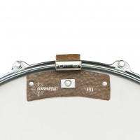 SNAREWEIGHT M1B SMALL LEATHER DAMPER BROWN