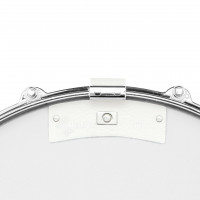 SNAREWEIGHT M1B SMALL LEATHER DAMPER WHITE