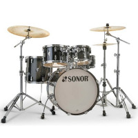 "SONOR AQ2 STUDIO 20""/5PCS TRANSPARENT STAIN BLACK"