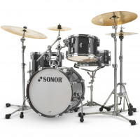 "SONOR AQ2 BOP 18""/4PCS TRANSPARENT STAIN BLACK"