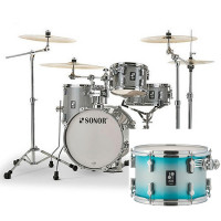 "SONOR AQ2 SAFARI 16""/4PCS AQUA SILVER BURST"