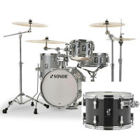 "SONOR AQ2 SAFARI 16""/4PCS TRANSPARENT STAIN BLACK"
