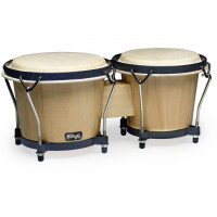 STAGG BW70N BONGOS BOIS  NATUREL