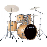 YAMAHA STAGE CUSTOM BIRCH FUSION20 5FUTS NATURAL WOOD +PACK HW780