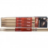 PACK STAGG 5A MAPLE (12 PAIRES)
