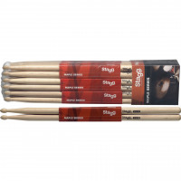 PACK STAGG 5B MAPLE (12 PAIRES)