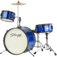 STAGG JUNIOR PACK JUNIOR16 3FUTS BLEUE